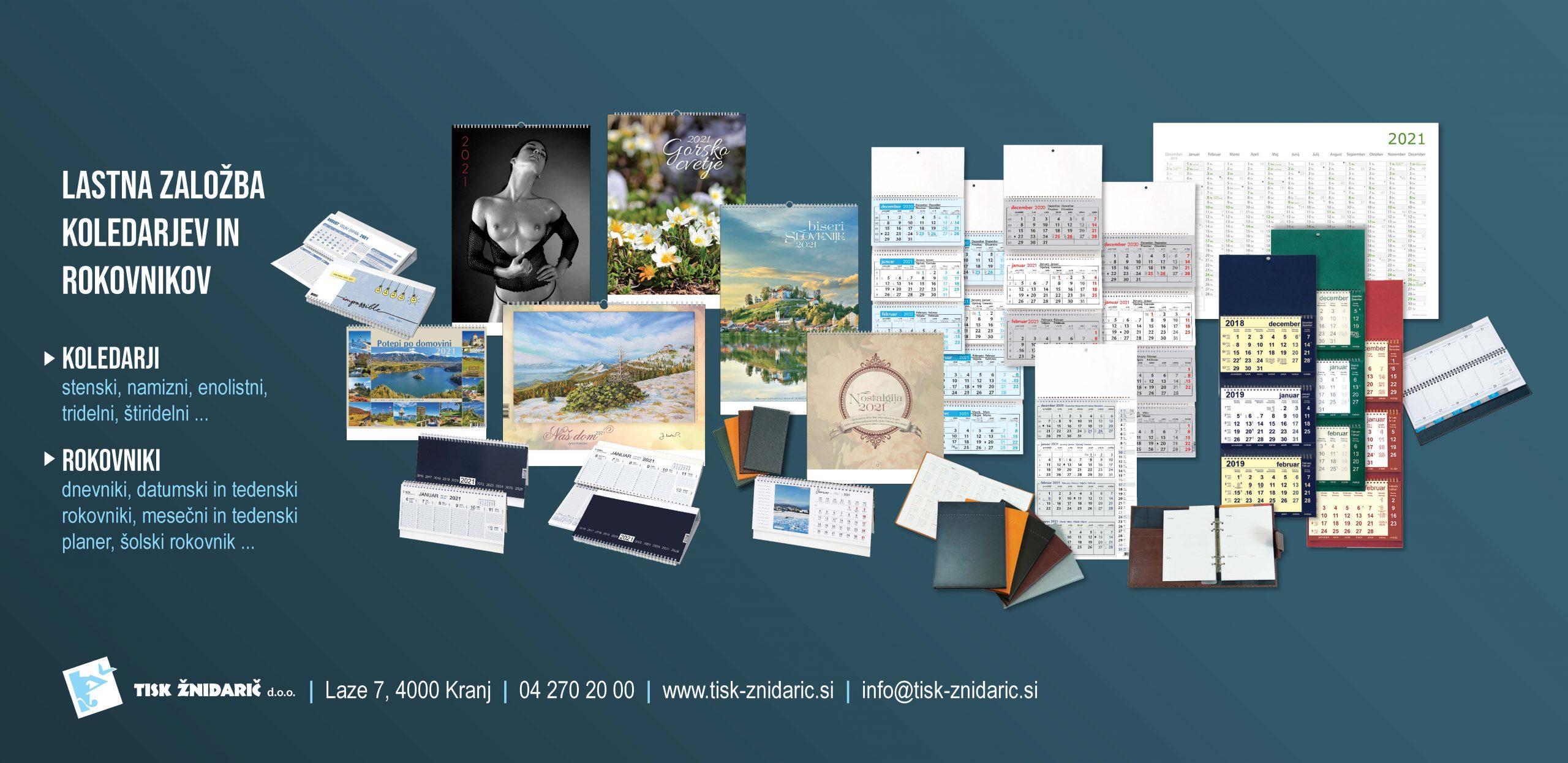 _TZ REKLAMA_ponudba koledarjev 2021_banner