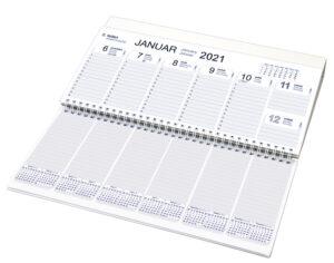Namizni ležeči koledar - ozki